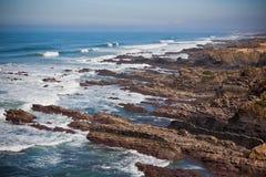 Western Portugal Ocean Coastline Royalty Free Stock Photo