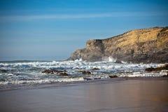 Western Portugal Ocean Coastline Royalty Free Stock Photos