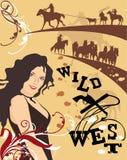 Western Poster Stock Photos
