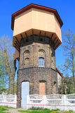 The western railway water tower of Gumbinnen Royalty Free Stock Photo