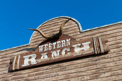 Western ranch Stock Photography