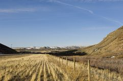 Western Ranch. A ranch out west stock images