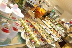 Western restaurant pastry Stock Photo
