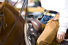 Western riding equipment detail. Cowboy and western riding equipment detail Royalty Free Stock Image