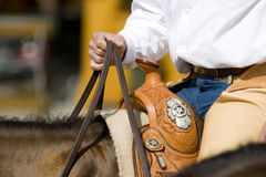 Western riding equipment detail Royalty Free Stock Image