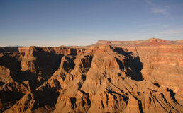 Western Rim of the Grand Canyon. On a late summer afternoon Stock Image