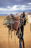 Western saddle Royalty Free Stock Photography