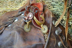 Western saddle gear. Royalty Free Stock Photos