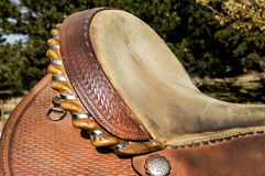 Western Saddle Seat Stock Images