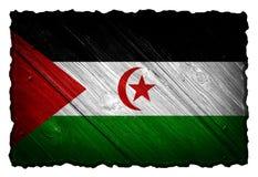 Western Sahara flag Stock Photography