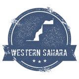 Western Sahara mark. Stock Photo