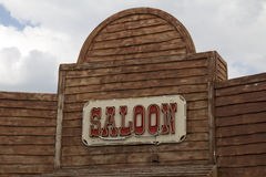 Western Saloon Royalty Free Stock Images