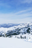 Western Sayan mountains. Royalty Free Stock Images