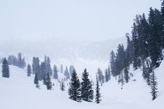 Western Sayan mountains. Stock Photo