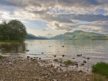Western shores of Loch Lomond Stock Photo