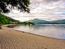 Western shores of Loch Lomond royalty free stock images