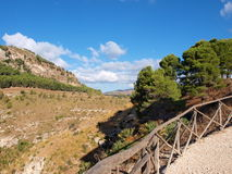 Western Sicily, Segesta, Sicily, Italy Stock Photography
