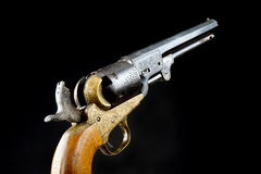 Western Six Shooter. Royalty Free Stock Photo