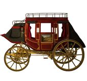 Western stagecoach 1 Stock Photos