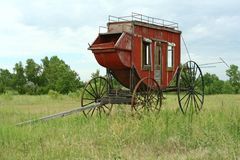 Western Stagecoach stock images