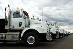 Western Star Trucks At Dealer Royalty Free Stock Images