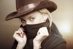 Western story Royalty Free Stock Images