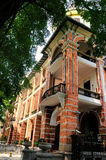 Western style building of 19th Century in Shamian Royalty Free Stock Image