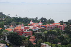 A western-style hotel in Gulangyu Island Royalty Free Stock Photography