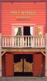 Western style saloon Stock Image