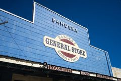 Western style store front Royalty Free Stock Images