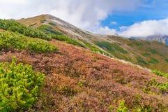 The Western Tatra Mountains Trzydniowianski Wierch Stock Photo