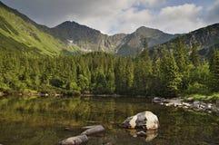 Western Tatras. Tatlikaks lake in Western Tatras Stock Image