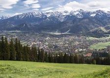 Western Tatras and Zakopane Stock Images