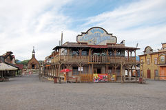 Western town royalty free stock images