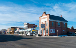 Western town. A western-like downtown of Panguitch, Utah, USA Stock Photography
