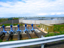 Western Treatment Plant Werribee Stock Photo