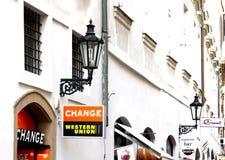 Western Union Stockfotos