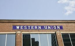 Western Union Lizenzfreie Stockbilder