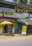 Western Union Agency. Stock Image