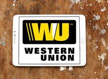Western union logo Stock Photography