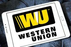 Western union logo Stock Photo