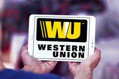 Western union logo Royalty Free Stock Images