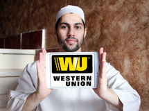 Western union logo Royalty Free Stock Photography