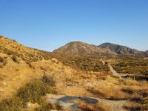 Desert Hills. Western United States desert landscape Royalty Free Stock Photo