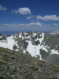 Western view from Mount Audubon, Indian Peaks, CO Royalty Free Stock Photo