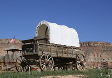 Western wagon Stock Photography