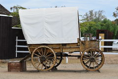 Western Wagon Royalty Free Stock Photography
