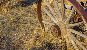 Western Wagon Wheel Royalty Free Stock Images