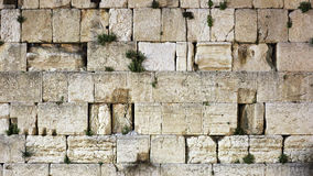 Western or Wailing wall background, Jerusalem, Israel. Background of holiest Jewish site used for everyday praying ceremony. Western or Wailing wall was built in Stock Images