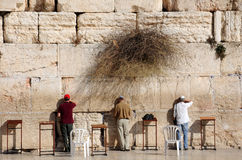 At the Western Wall Stock Photo